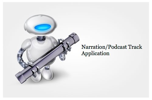 Automator: Create a Narration/Podcast Track Application