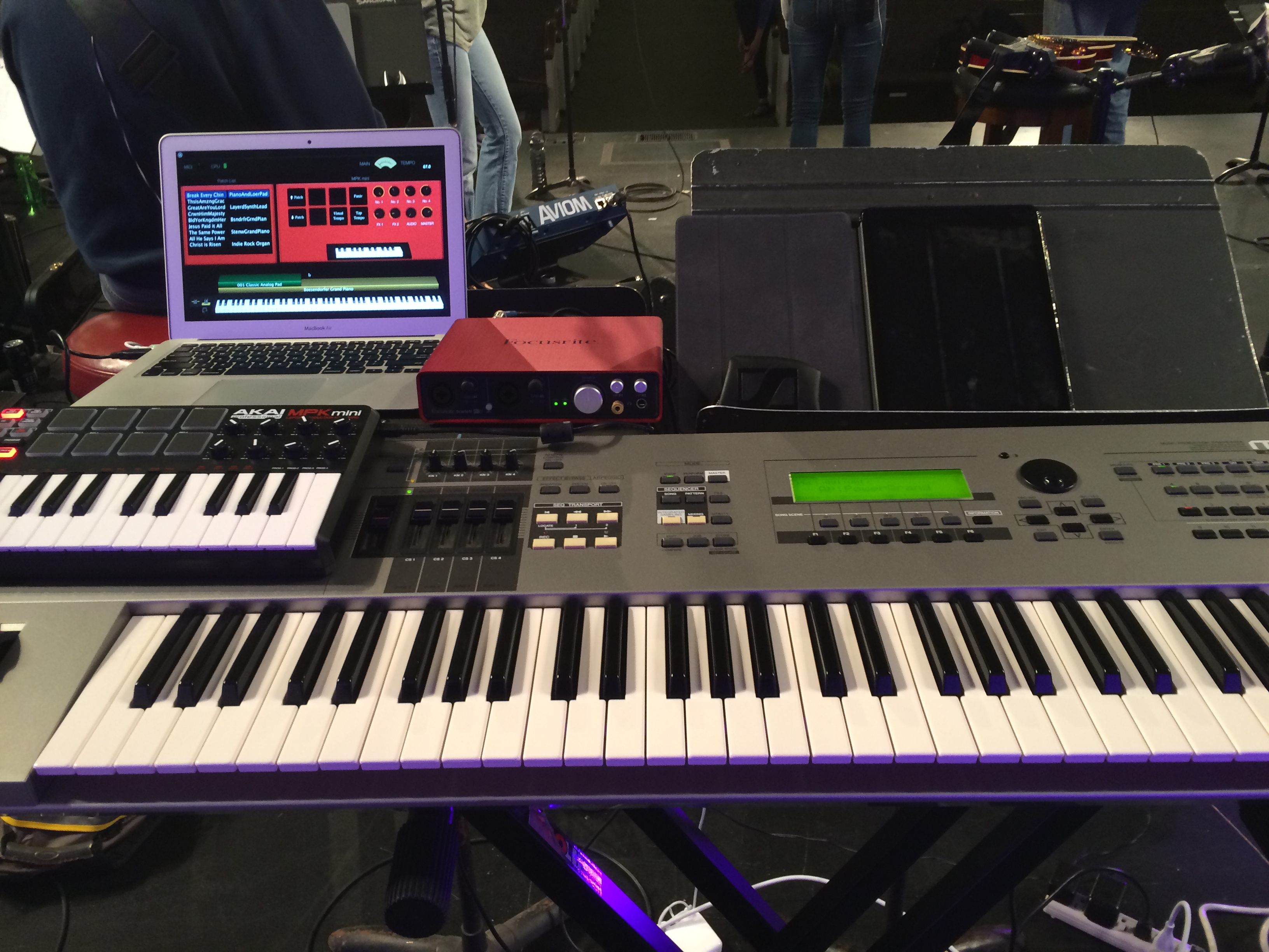 Setting Up a Keyboard Rig for Worship – Brian-Nagel com